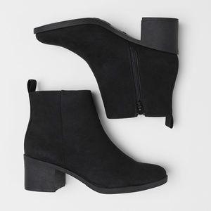 H&M Black Ankle Bootie